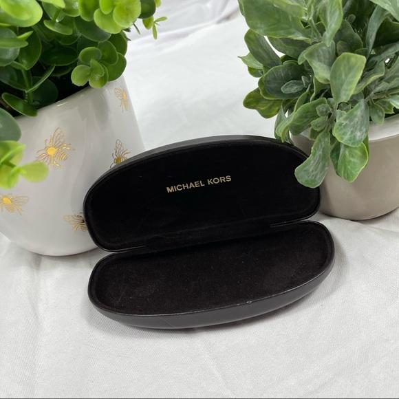 Michael Kors Black Leather Sunglasses Case